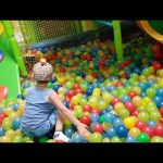 Indoor playground family fun for kids.  Video from KIDS TOYS CHANNEL