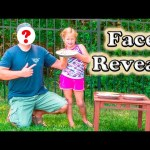 FACE REVEAL The Engineering Family Face Reveal Pie in the Face Video Challenge