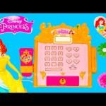 DISNEY PRINCESS Royal Cash Register with Frozen Elsa + Disney Descendants Video Toy Review