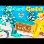 PAW PATROL Nickelodeon Paw Patrol Mystery Gold A Paw Patrrol Video Parody