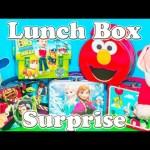 LUNCH BOX Surprise Paw Patrol + Mickey Mouse + Disney Frozen + Doc McStuffins Toys Video