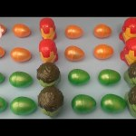 Learn Patterns with Surprise Eggs!  Opening Surprise Eggs filled with Toys! With Marvel Avengers!
