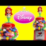 LEARN Colors and Counting with Disney Princess Ariel Gumball Machine