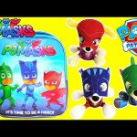 Paw Patrol as PJ Masks Backpack Surprises
