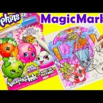 Shopkins Magic Marker Imagine Ink Game Booklet with Surprises