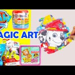 Paw Patrol Magic Art Scratchers with Surprise Twozies Mashems and More