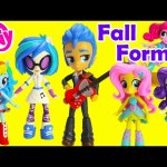 My Little Pony Fall Formal Minis  and Pinkie Pie Switch-a-Do Salon