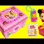 DIY Disney Princess Treasure Box with Num Nom Lip Balms, Tsum Tsum, Shopkins and More