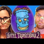 HUGE Hotel Transylvania 2 Movie Frankenstein Play Doh Halloween Surprise Egg Toy Guessing Challenge!