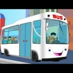 Wheels On The Bus | Nursery rhymes | Rhymes for children | Kids TV