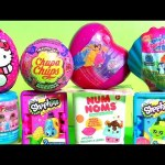 TOYS SURPRISE Splashlings Shell Disney Princess Fashems Peppa Pig NUM NOMS Elena of Avalor