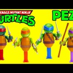 Teenage Mutant Ninja Turtles Connectible Pez Dispensers