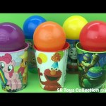 Balls Candy Surprise Cups Tom and Jerry Masha and the Bear Winnie the Pooh Minions The Octonauts Toy