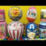 Surprise Toys Cupcake My Little Pony Justice League Shopkins Captain America Chupa Chups Kinder Egg