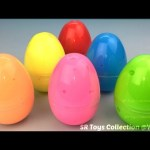 Clay Slime Surprise Eggs Frozen Elsa Peppa Pig My Little Pony Paw Patrol Minions Toys