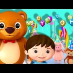 ABC Song | Alphabet Party! | Zed Version | Nursery Rhymes | Original Song By LittleBabyBum!