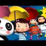 Rain Rain Go Away | Nursery Rhymes | By LittleBabyBum!