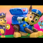 PAW PATROL Nickelodeon Paw Patrol Mission Chase Toys Video Unboxing