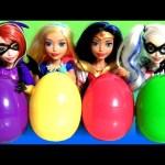 6 DC Super Hero Girls Dolls Disney TOYS SURPRISE DC Comics Super Friends Muñecas toy unboxing