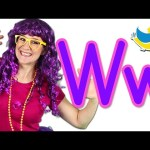The Letter W Song – Learn the Alphabet