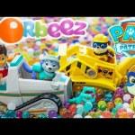 PAW PATROL Nickelodeon Paw Patrol Orbeez Rescue a Paw Patrol Video Parody