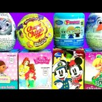 Kids Surprise Boxes Disney Princess Tinkerbell Furuta Peppa Pig Chupa Chups Frozen Disney Hadas