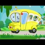 Wheels on The Bus | Nursery Rhymes | Kids TV