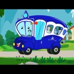Wheels on The Bus Go Round And Round | Kids Songs | Nursery Rhymes