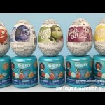 Toys Surprise Disney Inside Out Joy Anger Sadness Fear Disgust Chocolate Eggs Finding Dory Capsules