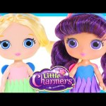Little Charmers Posie and Lavender Dolls Play Doh Poupée Dress – DCTC Toy Videos