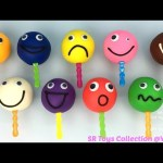 Play Doh Smiley Face Lollipops with Molds and Peppa Pig Rolling Pin Fun Creative for Kids