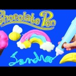 CHOCOLATE PEN Candy Maker Candy Craft Toy Review Make Your Own Chocolate Ice Cream Shapes