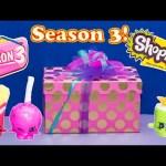 SHOPKINS SEASON 3 SNEAK PEAK Shopkins Surprise Toys Video
