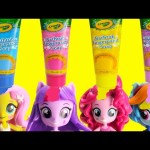 My Little Pony Mini Dolls Bath Soap and Sleep Time Surprises