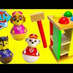 Paw Patrol LEARN Colors with Wooden Toys and Slime