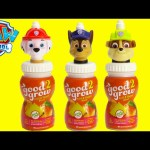 Paw Patrol Good2Grow Juice with Toy Surprises Shopkins Season 6 Mickey