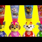 Paw Patrol Weeble Wobbles Bath Time Fun with Shopkins Season 6 Surprises