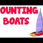 Boats Numbers | Learn numbers from 11 to 20
