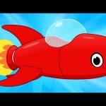 My Red Rocket Ship – My Magic Pet Morphle Compilation of Videos For Kids