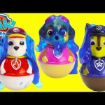 Paw Patrol Weebles in Orbeez Slime Pool Surprises