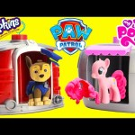 Paw Patrol Skye and Marshall Magical Pup House with Shopkins and My Little Pony