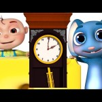 Five Little babies in Hickory Dickory | Zool Babies Fun Songs | Nursery Rhymes