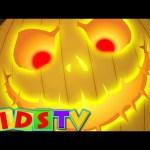 Scary Pumpkin | Halloween Nursery Rhymes For Kids And Children | Kids TV