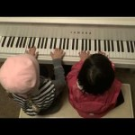 6-Year-Olds Play Piano Duet