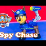 PAW PATROL Nickelodeon Paw Patrol Spy Chase a Paw Patrol Video Toy Review