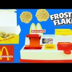 McDonalds Happy Meal Magic McNugget Maker NEW RECIPES Frosted Flakes & Rice Krispies