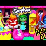 INSIDE OUT Character Toys Shop at NEW Shopkins Fashion Boutique HUGE Season 3 Playset