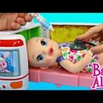 Baby Alive Doll Hospital Popo Japanese Ambulance & Baby Doctor Playset DisneyCarToys