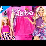 Ultimate Barbie Wardrobe Toy Closet Episode ★ NEW Muñecas Barbie Clothes Storage