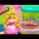 PLAY DOH Disney Princess Sleeping Beauty Play-Doh Castle Play Doh Disney Video